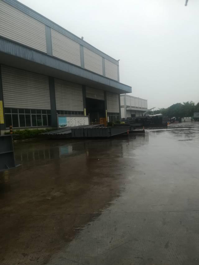 滴水十米钢构带行车免费用厂房6700平方