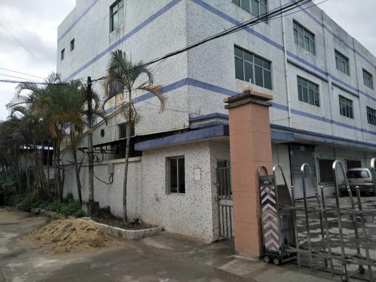 黄江新出工业园区二楼600平方
