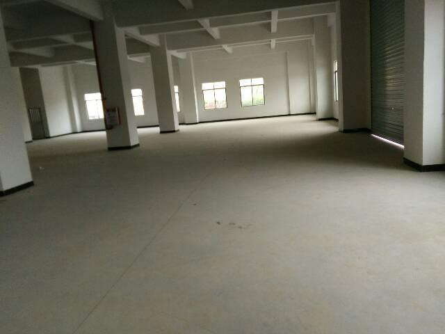厦岗沿江高速路口全新厂房6500平方,大小可分租