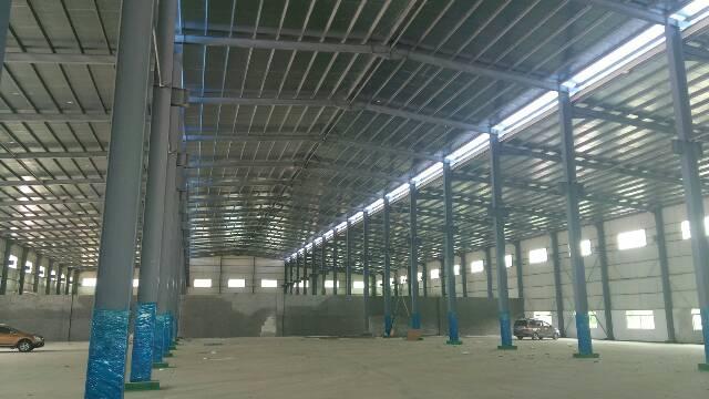 东莞约15米全新钢构出租可分租