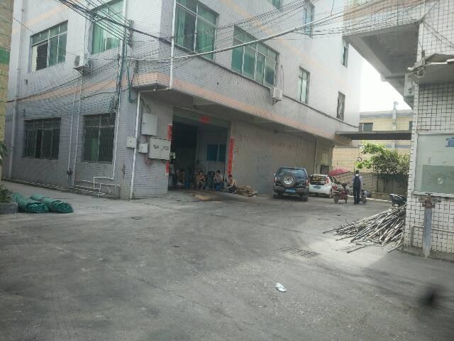 深圳2公里处新圩塘吓标准一楼厂房580平带办公室装修急租