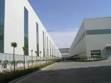 沙田新建滴水8米高钢构厂房出租,中间无柱子,可独立门院