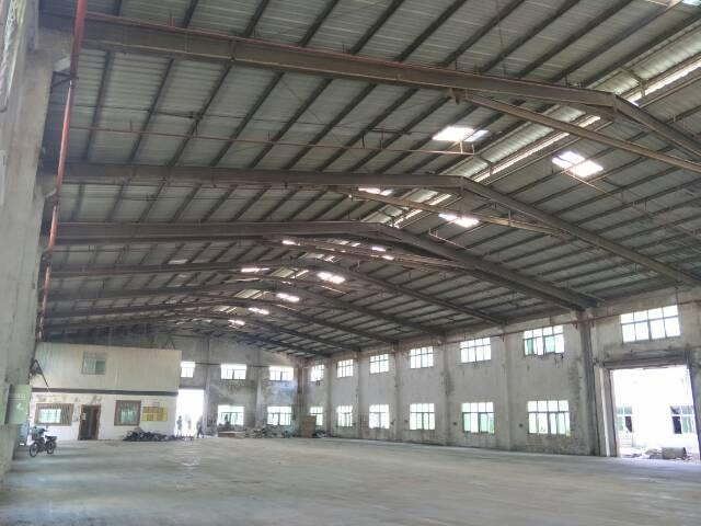 光明新区马山头十米高钢构厂房3000平方出租