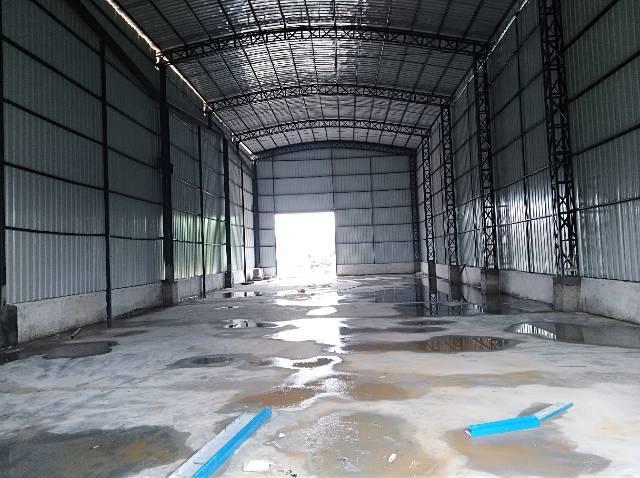 新出钢构厂房600平方原房东自建