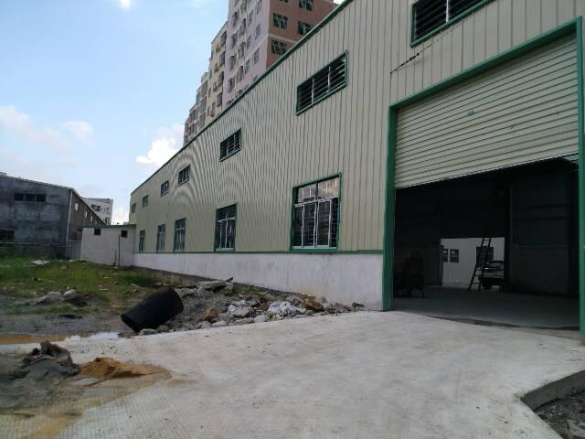 横沥镇三江工业区工业区独院800平方单一层
