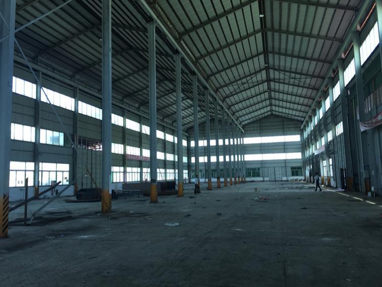 光明公常路边14米高钢构3400平方出租