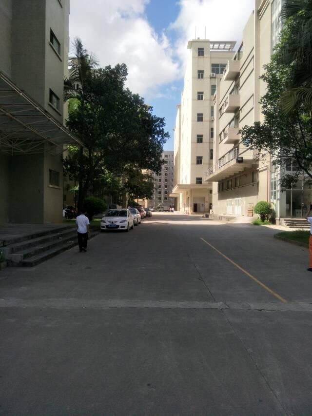 福永沿江高速边原房东楼上带装修厂房3100平米出租