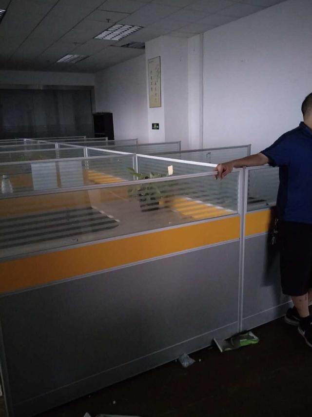 公明南光高速出口楼上2200平方带豪华装修厂房出租-图4
