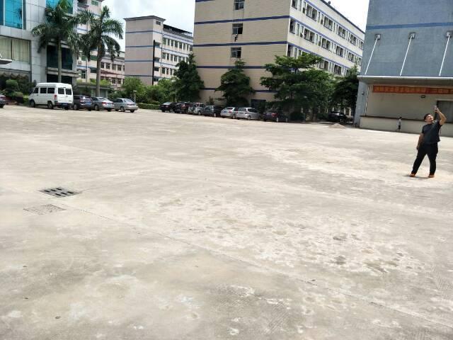 坪山1100平独院一楼标准厂房带装修地坪漆高6米可分租