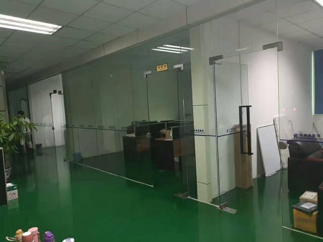 西乡固戍地铁站附近新出600平方带装修厂房出租-图2