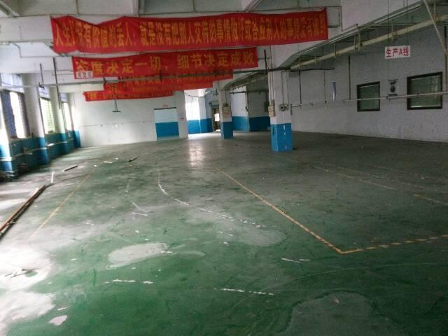 沙头2楼1200平方现成装修厂房只租12000元