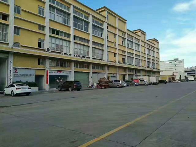 光明新区龙大高速出口1公里1楼2500平方高5.5米厂房招租