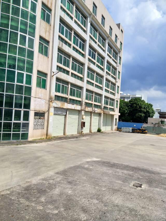 观澜新出一楼5米高靠大道边上厂房800平出租