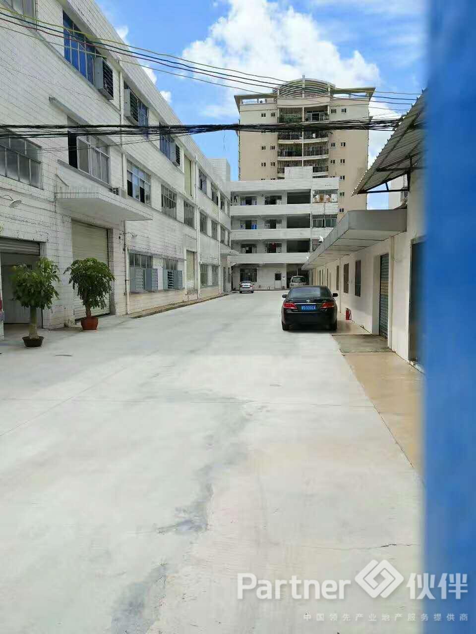 黄江镇建筑 1800 ㎡独院租地合同厂房出售