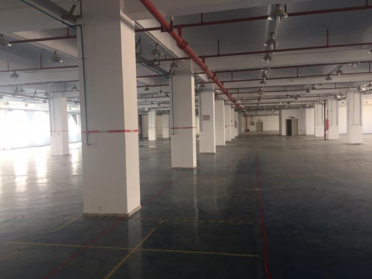 福永镇凤凰工业区楼上3600平方带装修厂房招租大小分组-图4