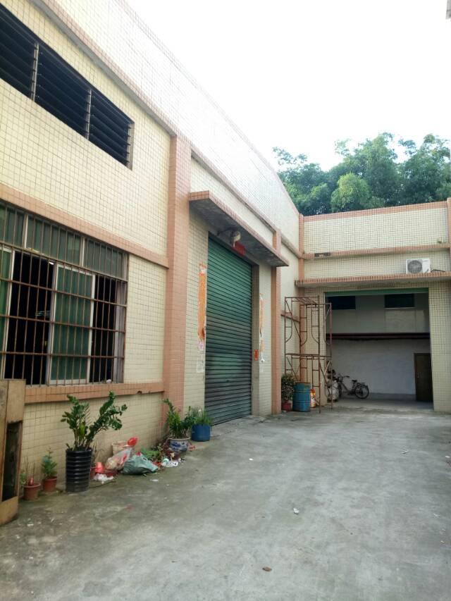 常平镇沙湖口村单层独院厂房总面积1500平米