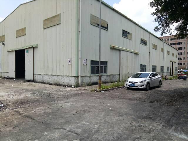 西乡宝安大道附近独院1楼钢构6000平方仓库出租