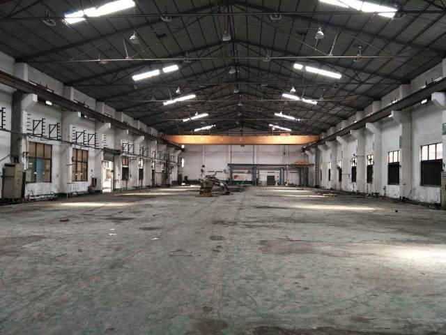 黄江镇中心新出带现成15吨行车钢构厂房12500平米火爆招租