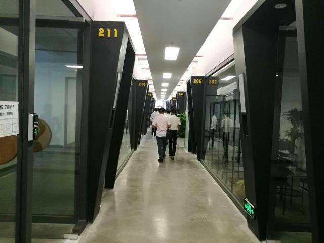 西丽镇地铁口附近80-1650平办楼招租
