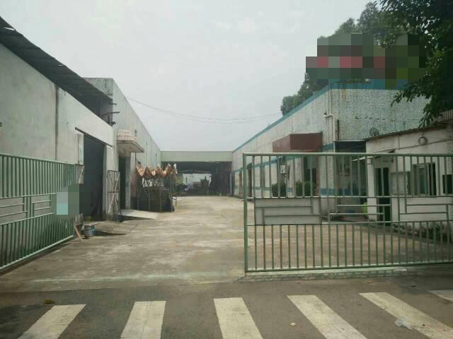 黄江镇中心附近新出独院钢构厂房4500平米出租