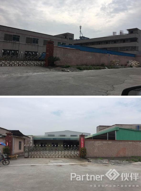 横沥镇建筑 6000 ㎡国有证厂房出售