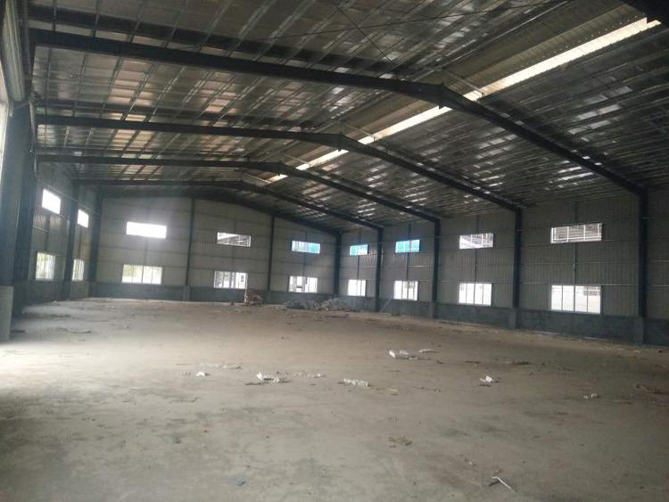 1500平滴水7米钢构厂房招租,行业不限