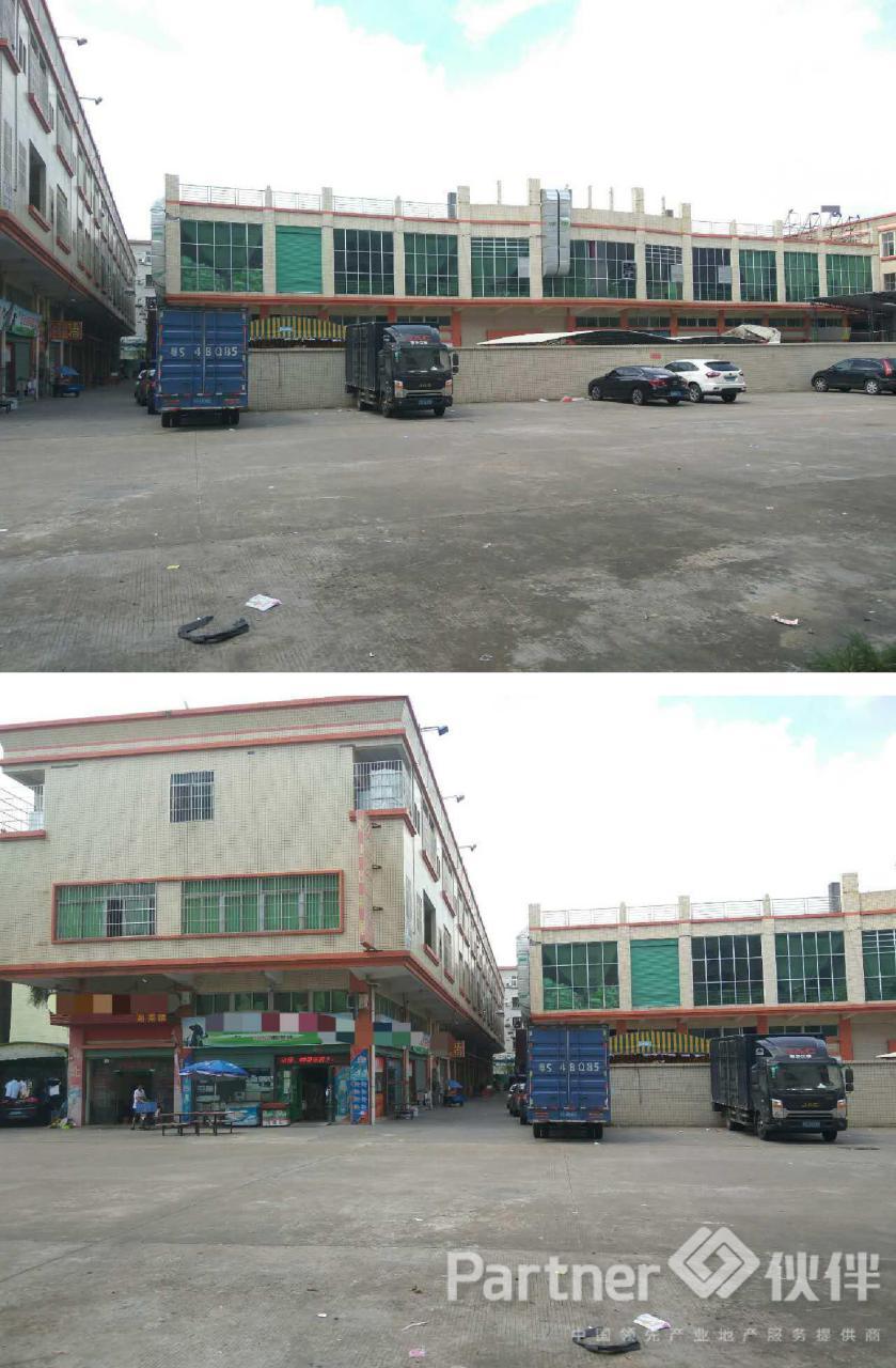 茶山镇建筑 12300 ㎡村委合同厂房低价出售