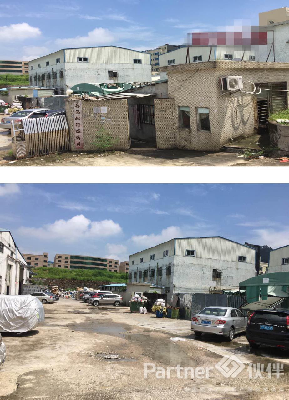 樟木头镇建筑 8500 ㎡集体证厂房出售
