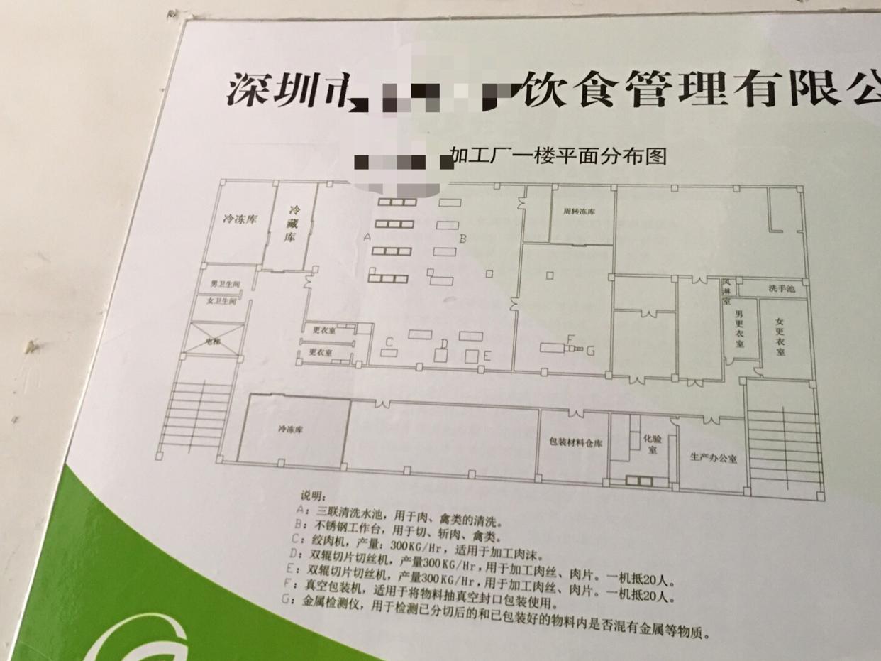 光明新区1万平米食品独院厂房出租