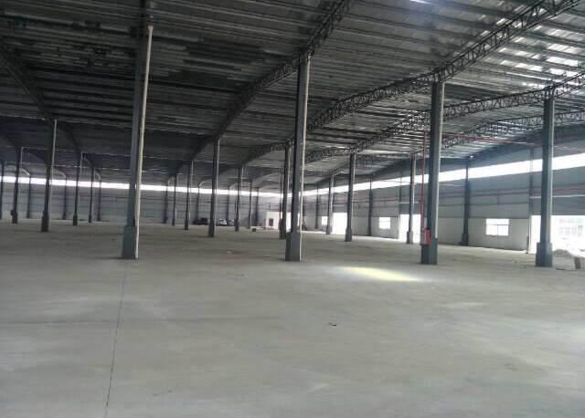 3000平12米高仓库出租价格25元!