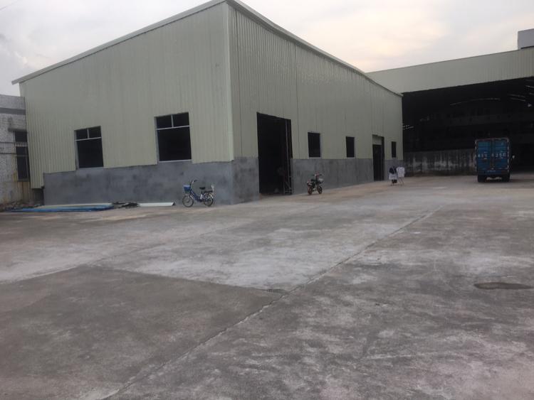 黄江镇新建单一层500平方钢构厂房