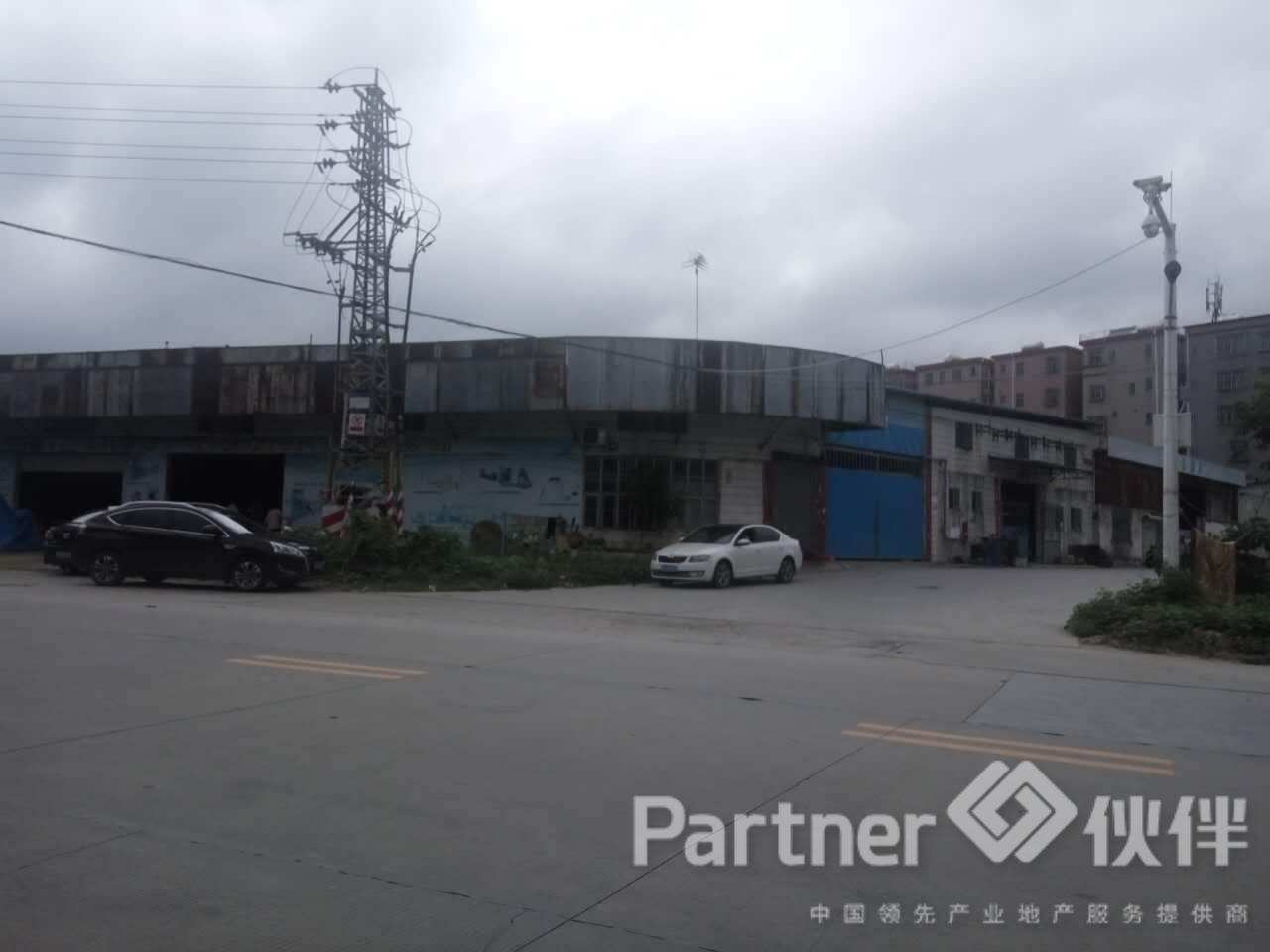 东莞虎门镇建筑6300㎡村委合同厂房出售