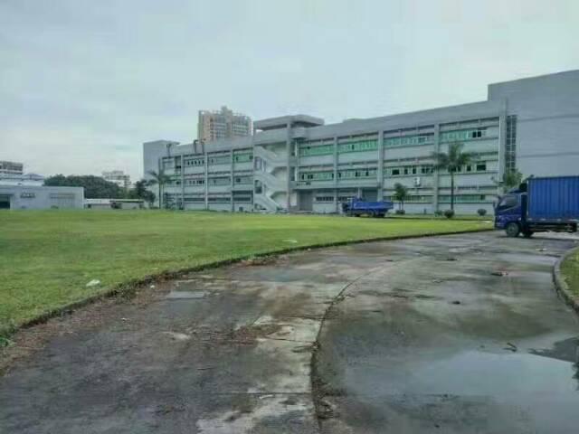 物流仓库宝地10万平米1-3层空地超大原房东厂房出租
