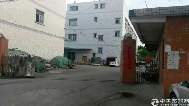 主干道边上9成新独院标准厂房带铁皮仓库低价出租
