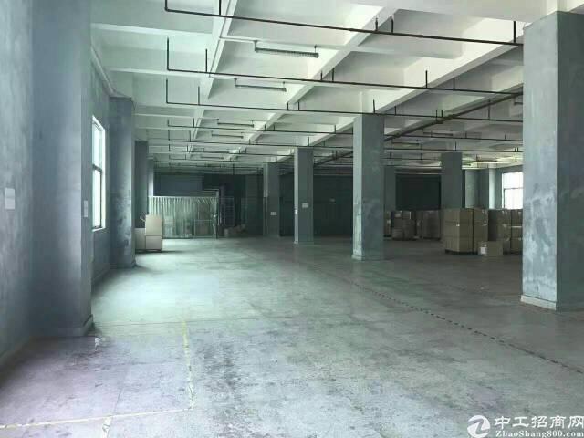 黄江北岸工业区重工业厂房23000平方出租