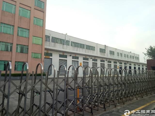 厚街镇宝屯村西环路边新出楼上带装修标准厂房5000平方米