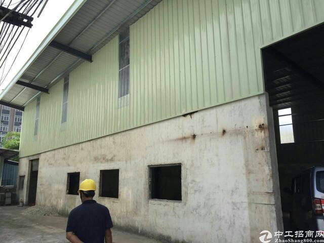 黄江靠深圳新出8米高钢构420平方