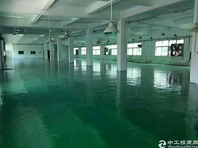 福永桥头地铁站附近新出楼上整层3600厂房出租-图2