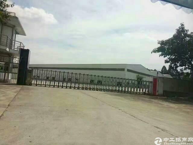 常平靠黄江新出(原房东)砖墙到顶单一层独院厂房