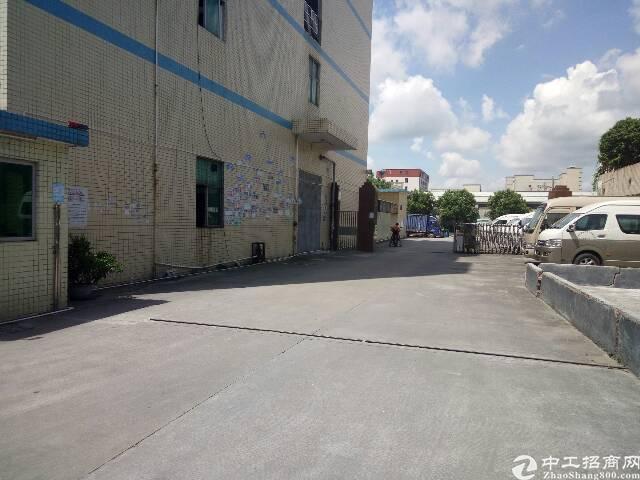 观澜梅观高速出口新出楼上3-4楼厂房招租