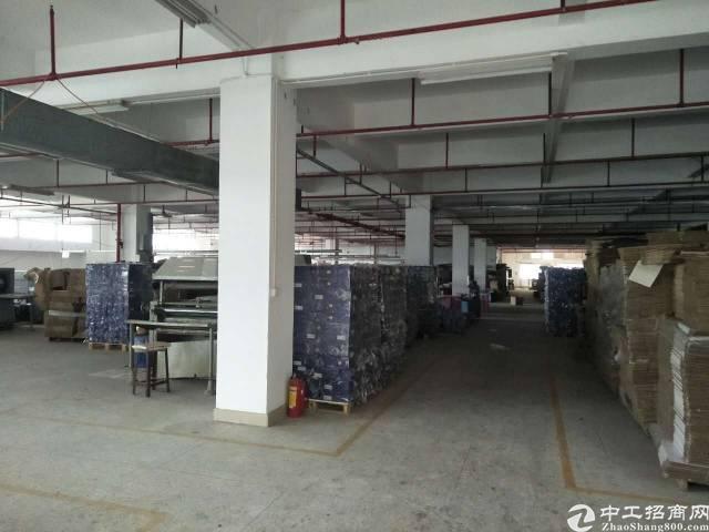 黄江镇靠公明新出一楼厂房出租1500平方、租金22、配电80
