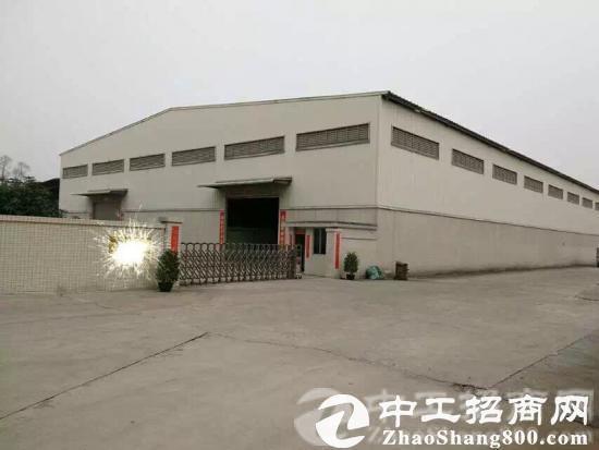 原房东单一层独院钢构厂房3600平 宿舍加办公室