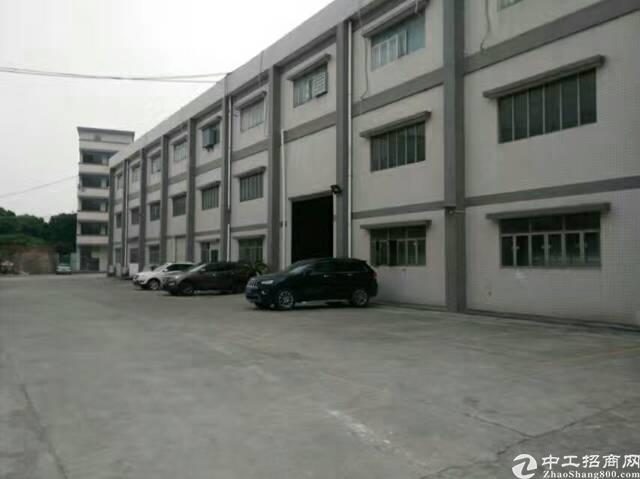 常平一楼标准厂房8米高!重点是有现成的行车可供使用