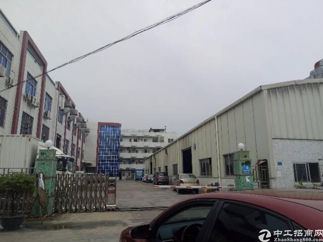 黄江镇龙见田一楼铁皮400平米招租