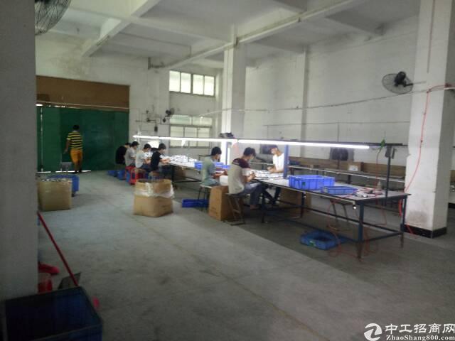 黄江镇新出1100平米厂房出租