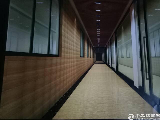 福永桥头地铁站楼上380平方办公室高档写字楼出租