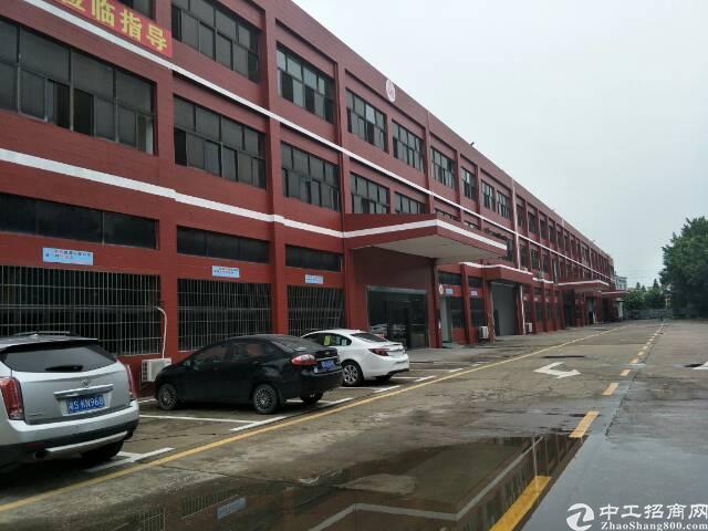 独栋标准厂房,独门前后双独院,交通方便.