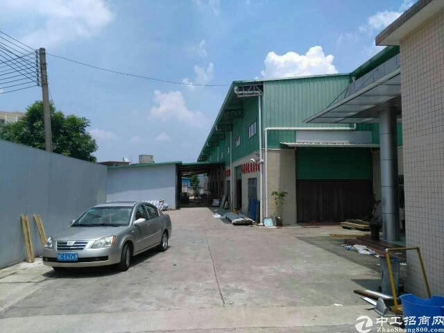 黄江镇社贝村新出独院钢构2950平方招租,有豪华办公室装修