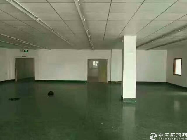 福永塘尾福洪工业区三楼600平带装修厂房招租