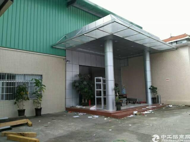 黄江新出9.5成新单一层独院2200平米